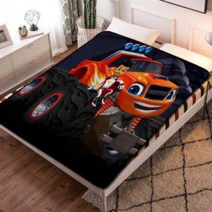 Chillder Blaze and the Monster Machines Blanket. Blaze and the Monster Machines Fleece Blanket Throw Bed Set Quilt Bedroom Decoration.