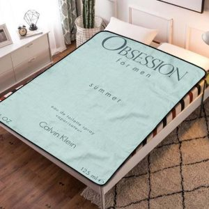 Calvin Klein CK Summer Obsession Fleece Blanket Throw Bed Set