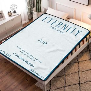 Calvin Klein Eternity Fleece Blanket Throw Quilt