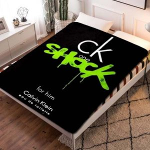 Calvin Klein CK Shock Fleece Blanket Throw Bed Set