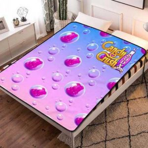 Candy Crush Soda Fleece Blanket Throw Quilt
