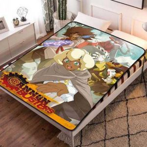 Cannon Busters Characters Fleece Blanket Quilt