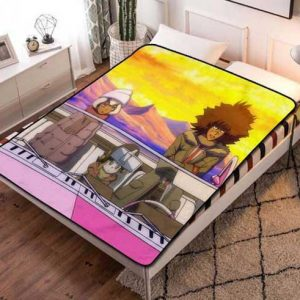 Cannon Busters Poster Fleece Blanket Quilt