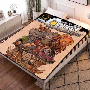 Chillder Cannon Busters Blanket. Cannon Busters Fleece Blanket Throw Bed Set Quilt Bedroom Decoration.