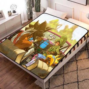 Cannon Busters Fleece Blanket Throw Quilt