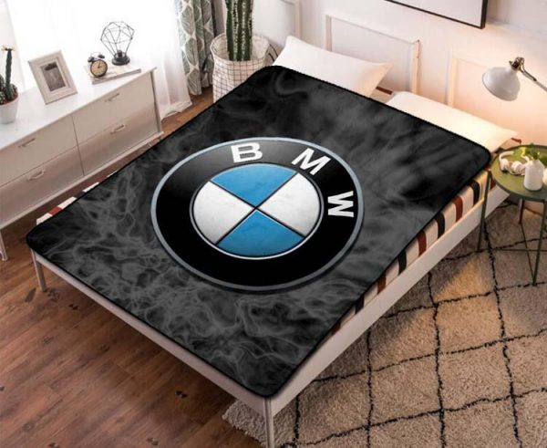 Chillder BMW Blanket. BMW Fleece Blanket Throw Bed Set Quilt Bedroom Decoration.