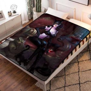 Catwoman Movie Fleece Blanket Throw Quilt