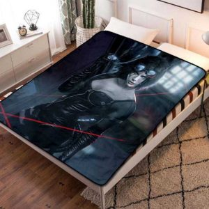 Catwoman Superhero Fleece Blanket Throw Quilt