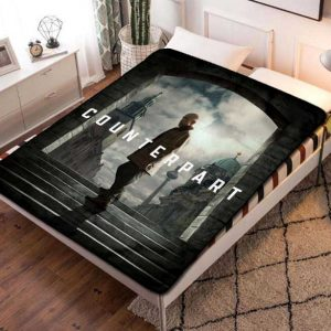Counterpart TV Series Fleece Blanket Throw Bed Set