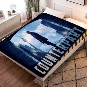 Counterpart TV Series Fleece Blanket Quilt