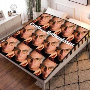 Curb Your Enthusiasm Fleece Blanket Throw Quilt