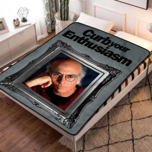 Curb Your Enthusiasm Series Fleece Blanket Throw Quilt