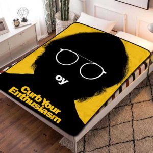 Curb Your Enthusiasm Fleece Blanket Quilt
