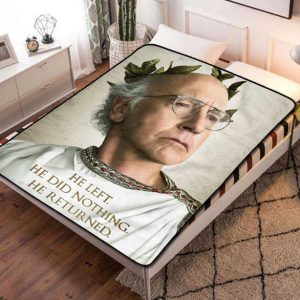 Chillder Curb Your Enthusiasm Blanket. Curb Your Enthusiasm Fleece Blanket Throw Bed Set Quilt Bedroom Decoration.