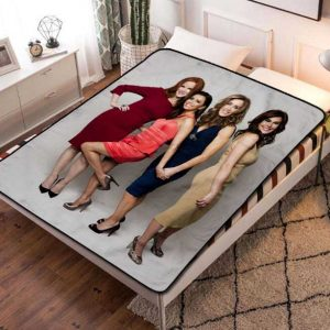 Desperate Housewives TV Shows Fleece Blanket Throw Bed Set
