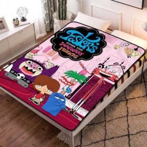 Foster's Home for Imaginary Friends Fleece Blanket Quilt