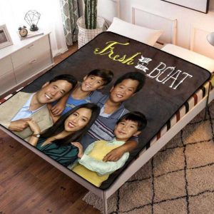 Fresh Off the Boat TV Series Fleece Blanket Quilt