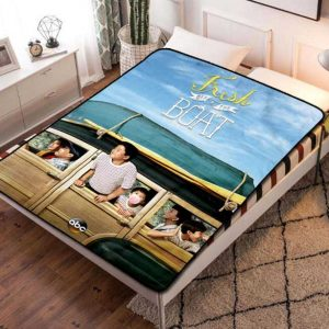 Fresh Off the Boat TV Series Fleece Blanket Throw Quilt