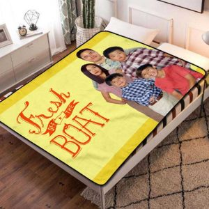 Fresh Off the Boat TV Shows Fleece Blanket Throw Bed Set