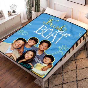 Fresh Off the Boat TV Series Fleece Blanket Throw Bed Set