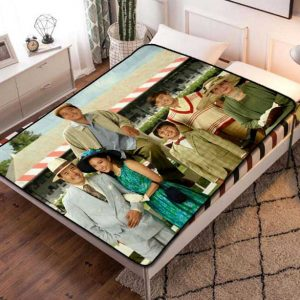 Fresh Off the Boat TV Shows Fleece Blanket Quilt
