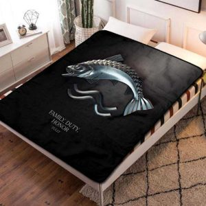 Game of Thrones House Tully Fleece Blanket Throw Bed Set