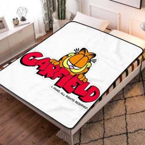 Garfield Poster Fleece Blanket Throw Quilt