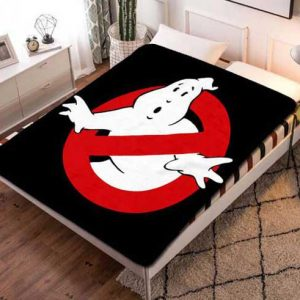 Ghostbusters Logo Fleece Blanket Throw Quilt