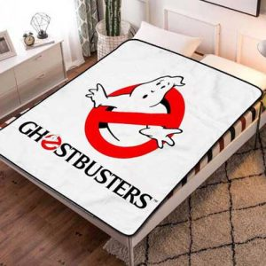 Ghostbusters Symbol Fleece Blanket Quilt