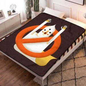 Ghostbusters Fleece Blanket Throw Quilt
