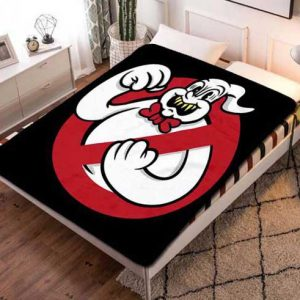 Ghostbusters Fleece Blanket Throw Bed Set