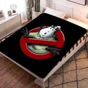 Ghostbusters Logo Fleece Blanket Quilt