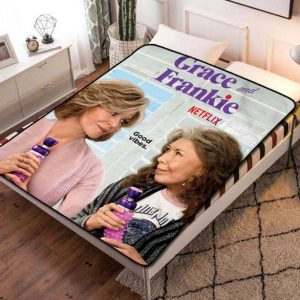 Grace and Frankie TV Series Fleece Blanket Throw Quilt