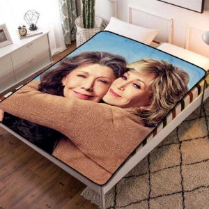 Grace and Frankie TV Series Fleece Blanket Throw Bed Set
