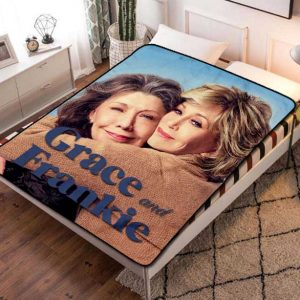 Grace and Frankie TV Series Fleece Blanket Quilt