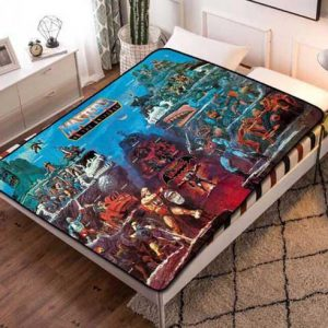 He-Man Masters of the Universe Characters Fleece Blanket Throw Quilt