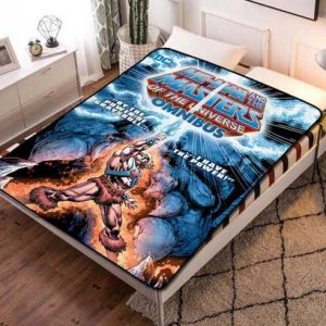 He-Man Masters of the Universe Style Fleece Blanket Throw Bed Set