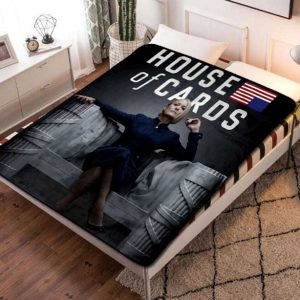 House of Cards TV Shows Fleece Blanket Throw Quilt