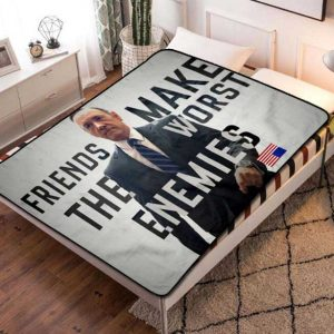 House of Cards TV Shows Fleece Blanket Quilt