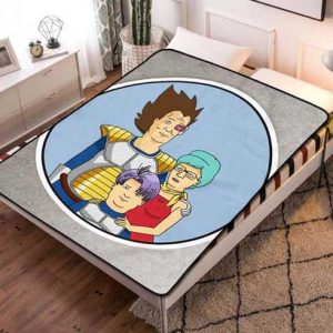 King Of The Hill Fleece Blanket Throw Bed Set