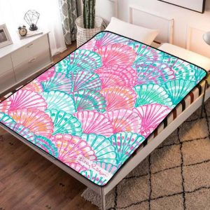 Lilly Pulitzer Oh Shello Fleece Blanket Throw Quilt