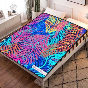 Lilly Pulitzer Electric Feel Fleece Blanket Throw Quilt