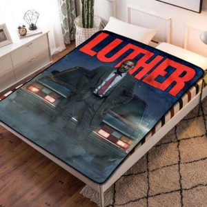 Luther Idris Elba Fleece Blanket Throw Bed Set