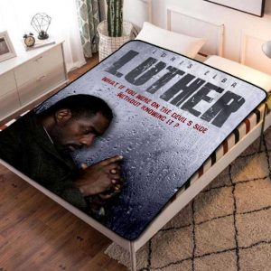 Luther Fleece Blanket Throw Quilt