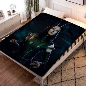 Mantis Pom Klementieff Fleece Blanket Throw Bed Set