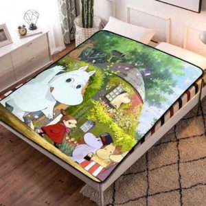 Moominvalley Fleece Blanket Quilt