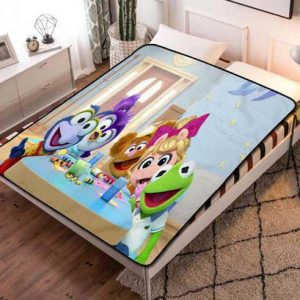 Muppet Babies Characters Fleece Blanket Throw Quilt