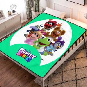 Muppet Babies Cartoon Fleece Blanket Quilt