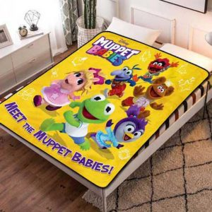 Chillder Muppet Babies Blanket. Muppet Babies Fleece Blanket Throw Bed Set Quilt Bedroom Decoration.