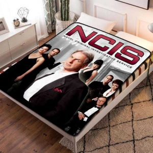 NCIS Fleece Blanket Throw Bed Set